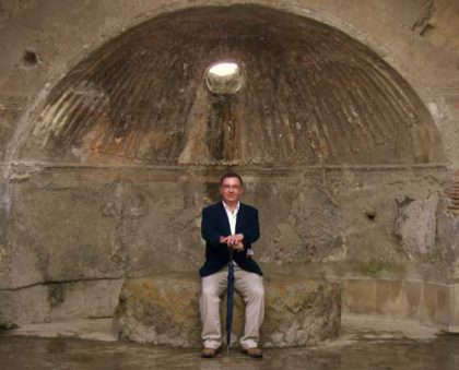 Barry in Herculaneum